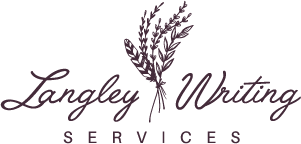 Langley Writing Services logo- subfooter